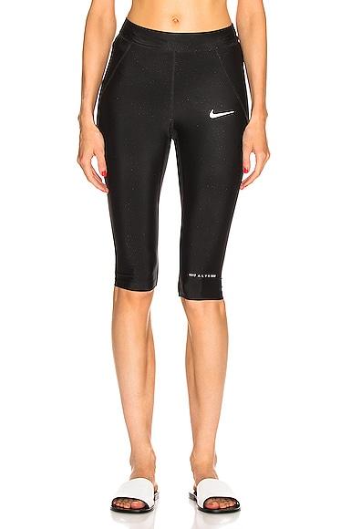x Nike Short Training Glitter Legging