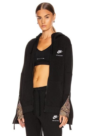 X Nike Zip Hoodie