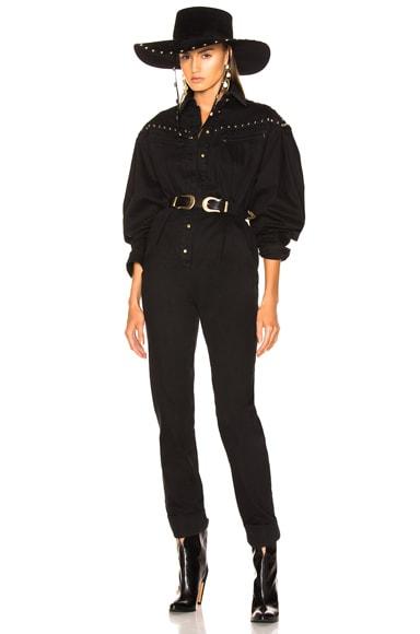 Studded Western Jumpsuit