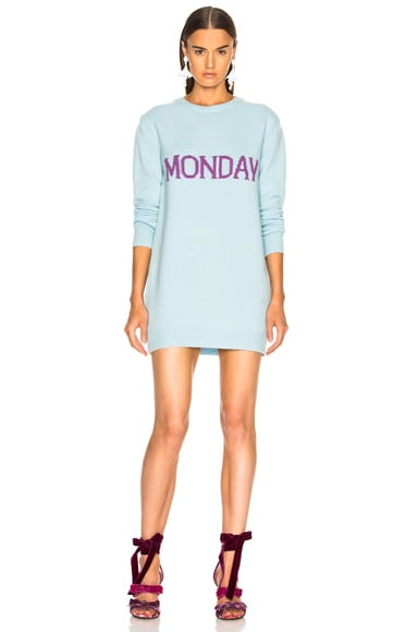 Monday Crewneck Sweater Dress