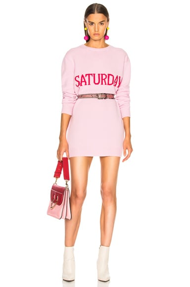 Saturday Crewneck Sweater Dress