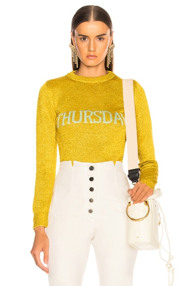 Thursday Lurex Crewneck Sweater