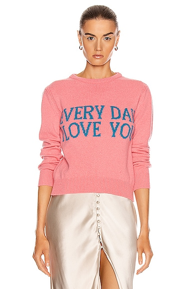 Everyday I Love You Sweater
