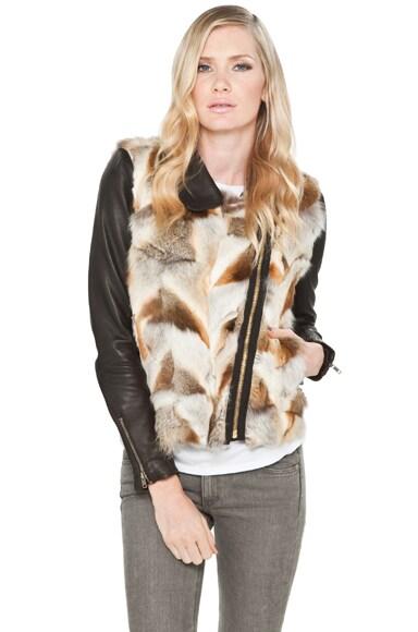 Fox Fur Syd Jacket