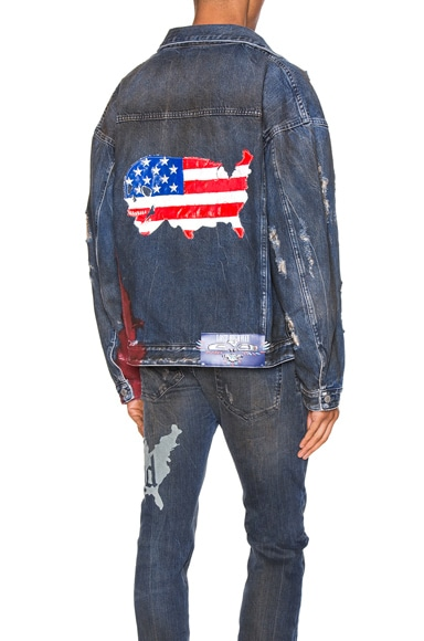 Wyatt Dip Dyed Denim Trucker