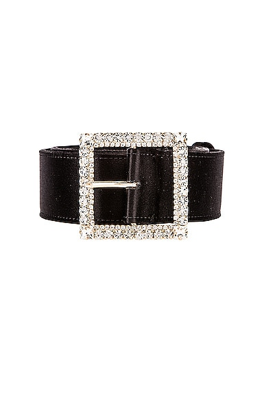 Crystal Buckle Belt