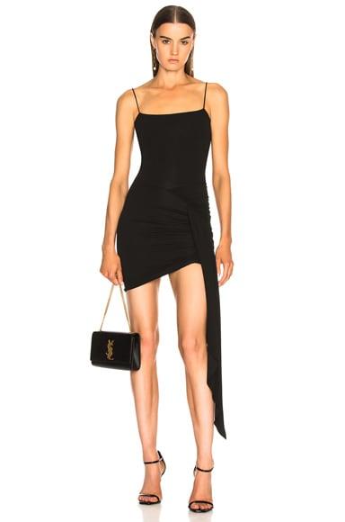 Stretch Jersey Ruched Tank Dress