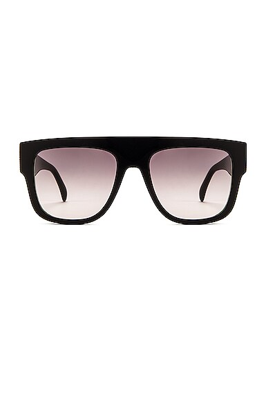 Flat Top Stud Sunglasses