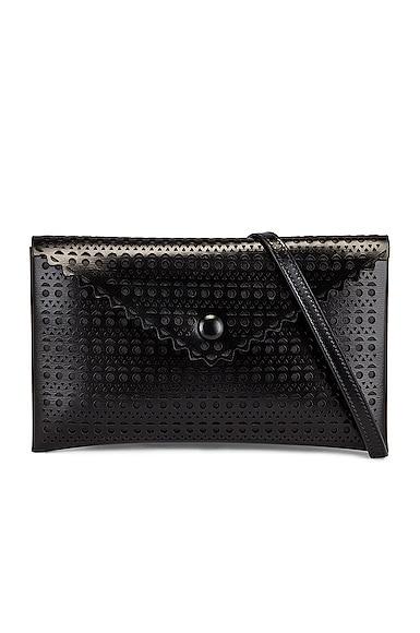 Alaïa Louise 20 Vienne Crossbody Bag In Noir