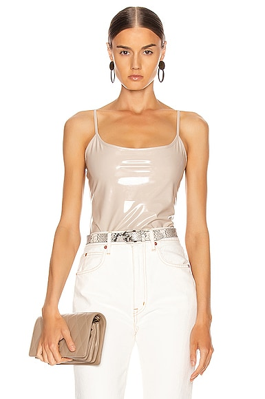 Reeve Vinyl Bodysuit