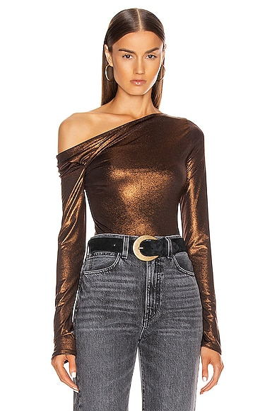 Willett Metallic Bodysuit