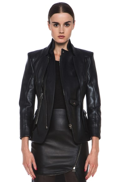 Prince Nappa Leather Jacket