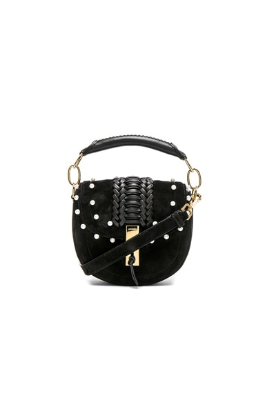 Ghianda Tubular Top Handle Mini Bag with Pearls