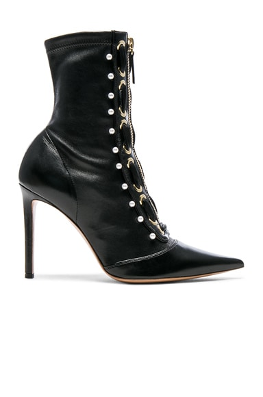 Elliot Laced Zipper Bootie