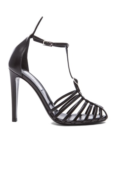 Firenza T Strap Leather Sandals