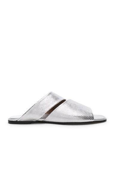 Slashed Slide Sandals
