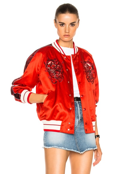 Embroidered Blouson
