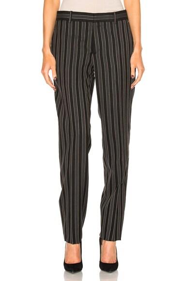 Stripe Wool Pant
