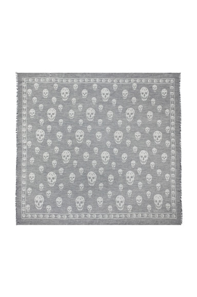 All Over Skull Scarf