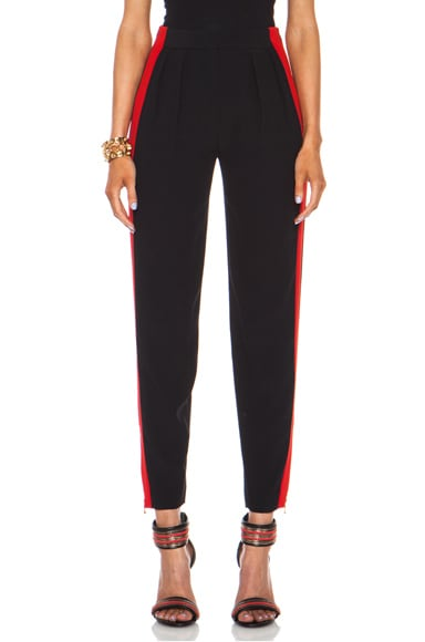 Low Waist Acetate-Blend Trouser