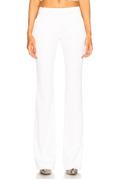 Narrow Bootcut Trousers