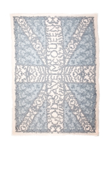 God Save McQ Lace Pashmina