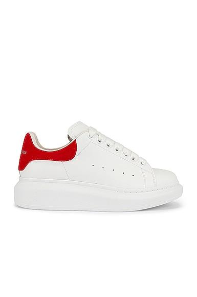 Alexander McQueen Oversized Sneakers in White