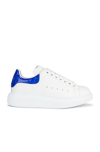 Alexander McQueen Lace Up Sneakers in White