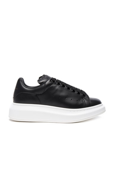 Leather Platform Sneakers