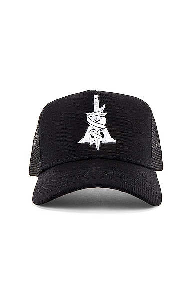 A Dagger Cotton Trucker Hat