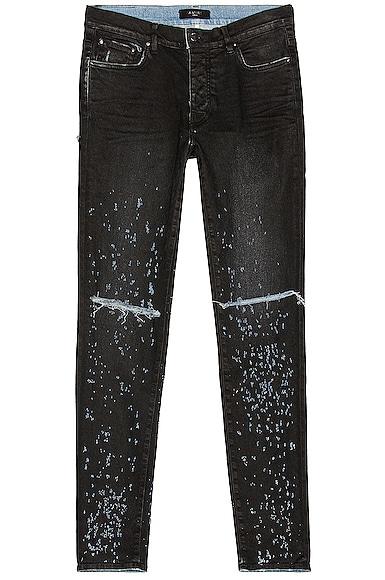 Amiri Shotgun Jean in Black