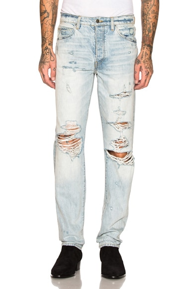 Destroyed Slouch Jean