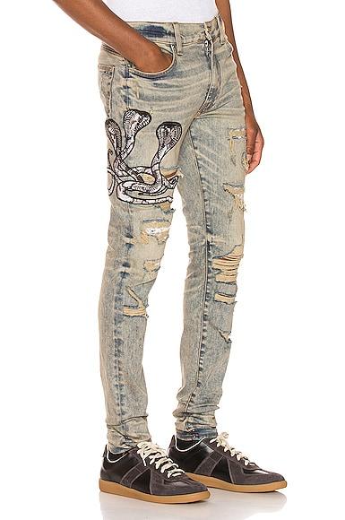 Snake Patch Jean