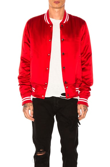 Silk Baseball Jacket
