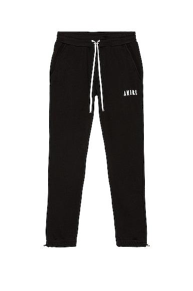 Amiri Core Logo Sweatpants in Black