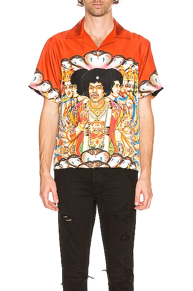 Jimi Hendrix Short Sleeve Shirt