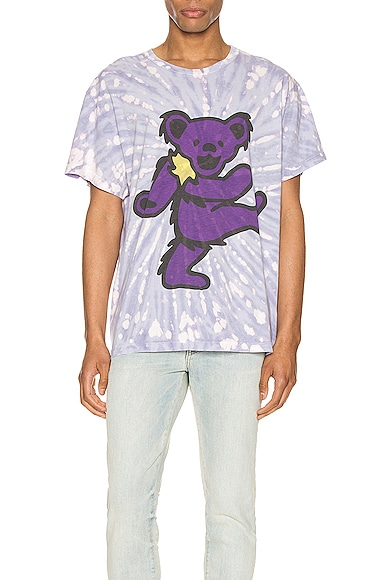 Grateful Dead Bear Tie Dye Tee