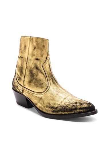 Western Metallic Boot