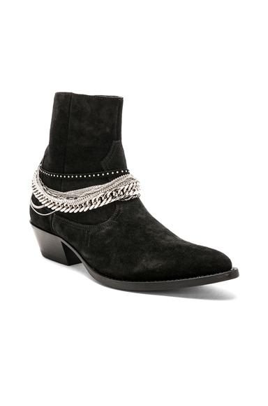 Western Chain Boot
