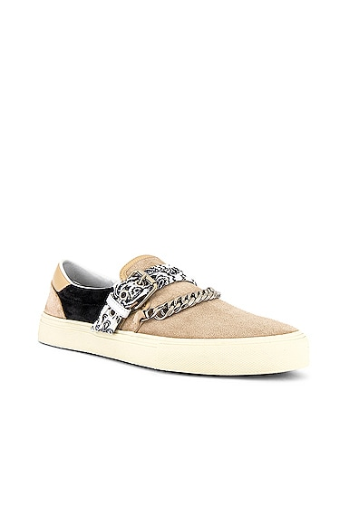 Bandana Chain Slip On