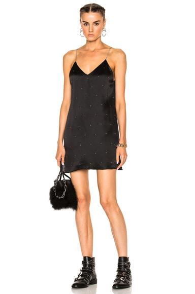 V Neck Slip Studded Dress