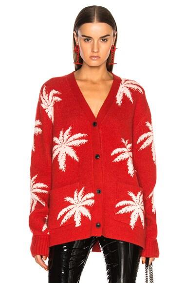 Palm Cardigan Sweater