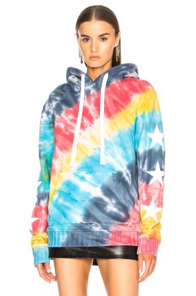 Rainbow Star Pullover Hoodie