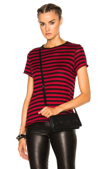 Cashmere New Classic Stripe Tee
