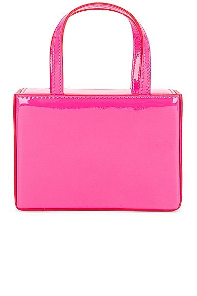 AMINA MUADDI Superamini Giorgia Bag in Pink