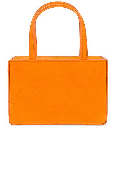 AMINA MUADDI Superamini Giorgia Bag in Orange