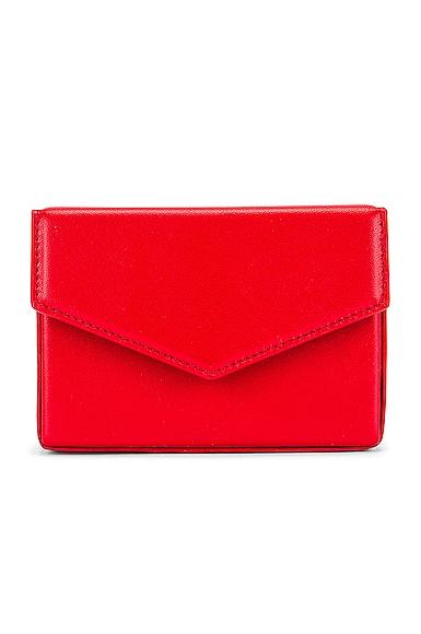 AMINA MUADDI Superamini Johana Bag in Red