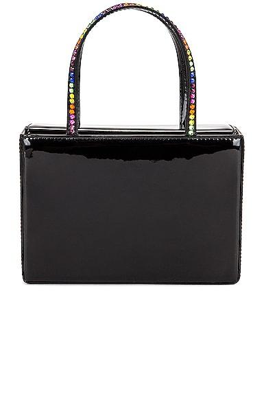 AMINA MUADDI Amini Gilda Rainbow Bag in Black