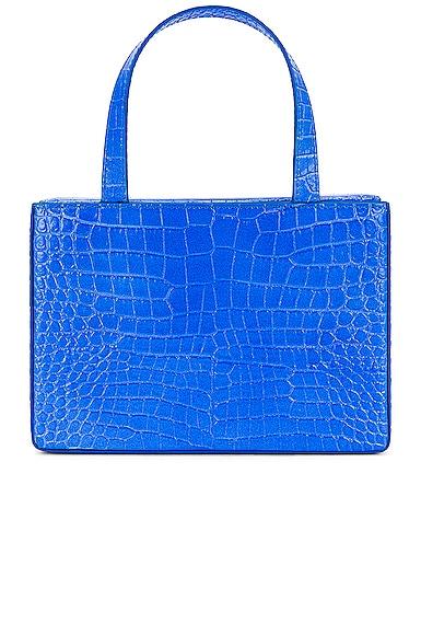 AMINA MUADDI Amini Giorgia Bag in Blue