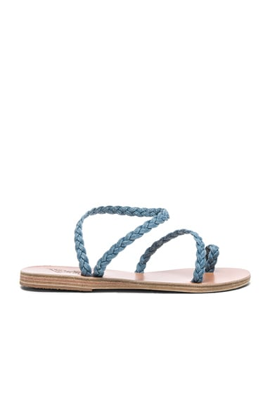 Denim Eleftheria Sandals